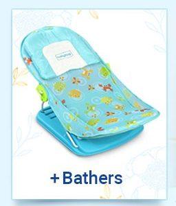 Baby Bathers & Bath Tubs